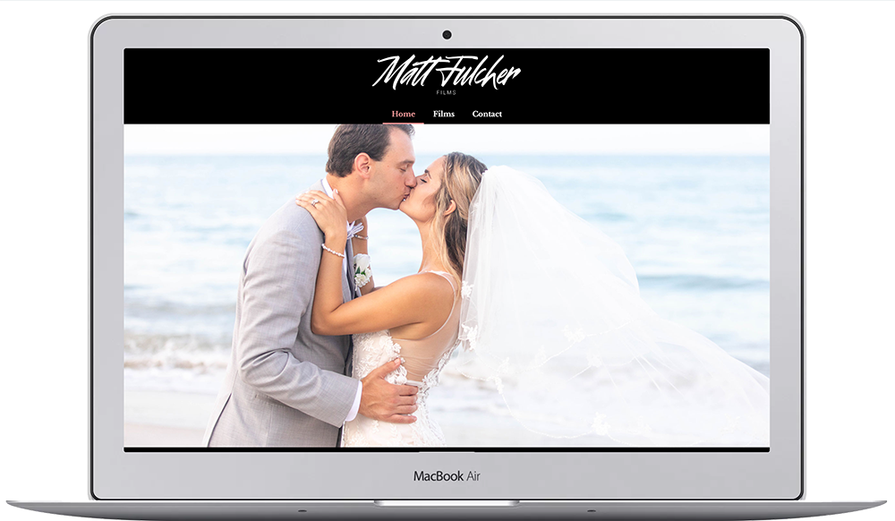 Oseeyo Web Development and Design - wedding photographer website - Vero Beach, FL