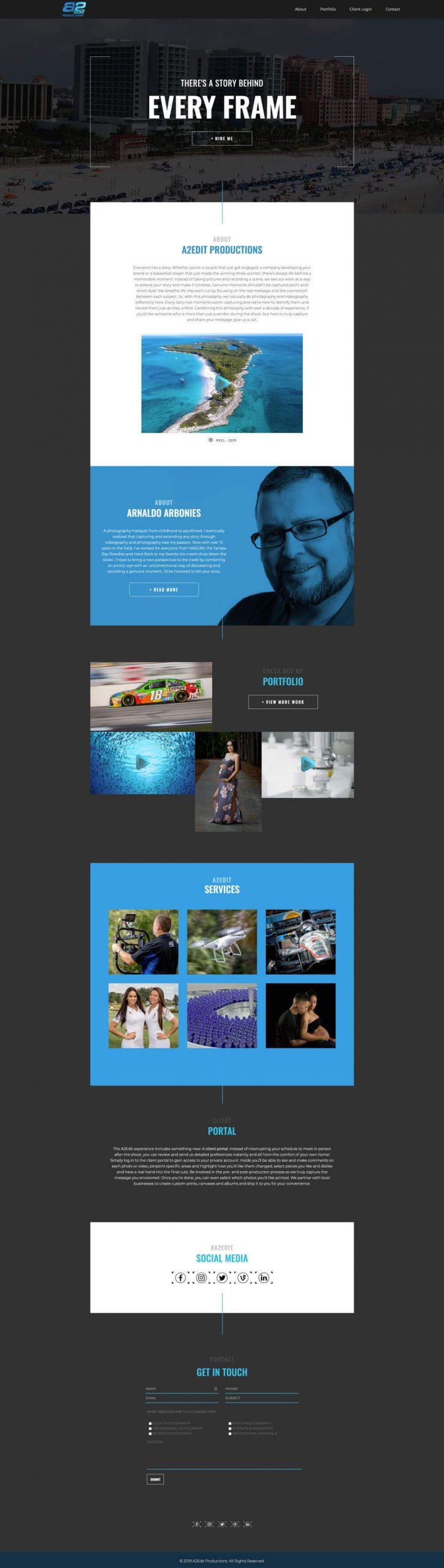 Oseeyo Web Development and Design - Screenshot